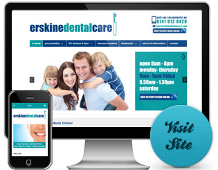 Visit the Erskine Dental Care Website...